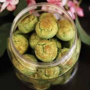 melt in your mouth green pea cookie
