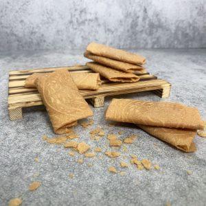 Peanut Butter Love Letter Fold Closeup