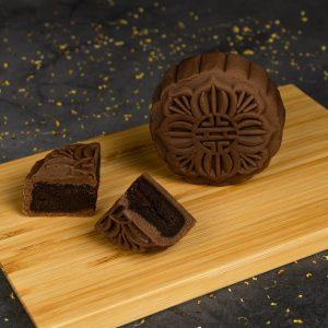 Premium Lava Belgian Chocolate Mooncake