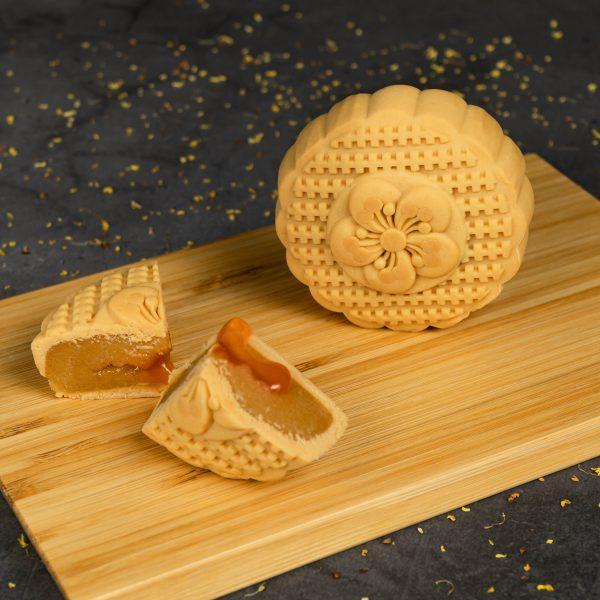 Premium Lava Golden Buttermilk Mooncake