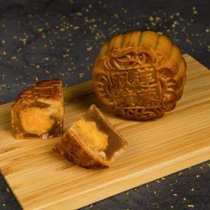 Premium Lotus Double Yolk Mooncake (Low Sugar)