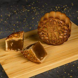 Premium Lotus No Yolk Mooncake (Low Sugar)