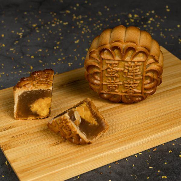 Premium Lotus Single Yolk Mooncake (Low Sugar)